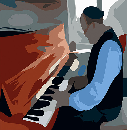portland or blues piano