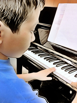 children piano keyboard lessons