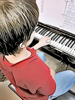piano keyboard lessons studio