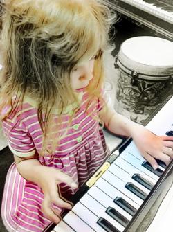 piano lesson keyboard studio