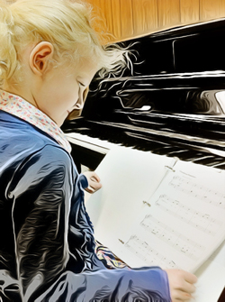 piano lessons children adults