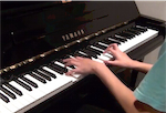 coldplay paradise piano solo video from mylo xyloto album